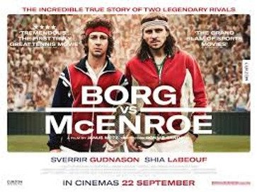 They got the wrong match! But the next tennis film should be much better